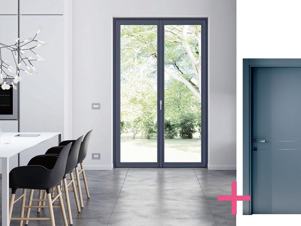 Come abbinare porte e finestre casafacile - Acm porte e finestre ...