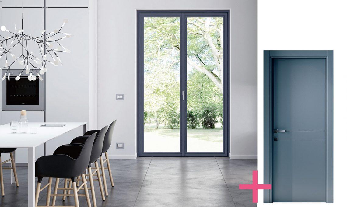 Guida pratica per scegliere porte e finestre casafacile - Finestre bianche ...