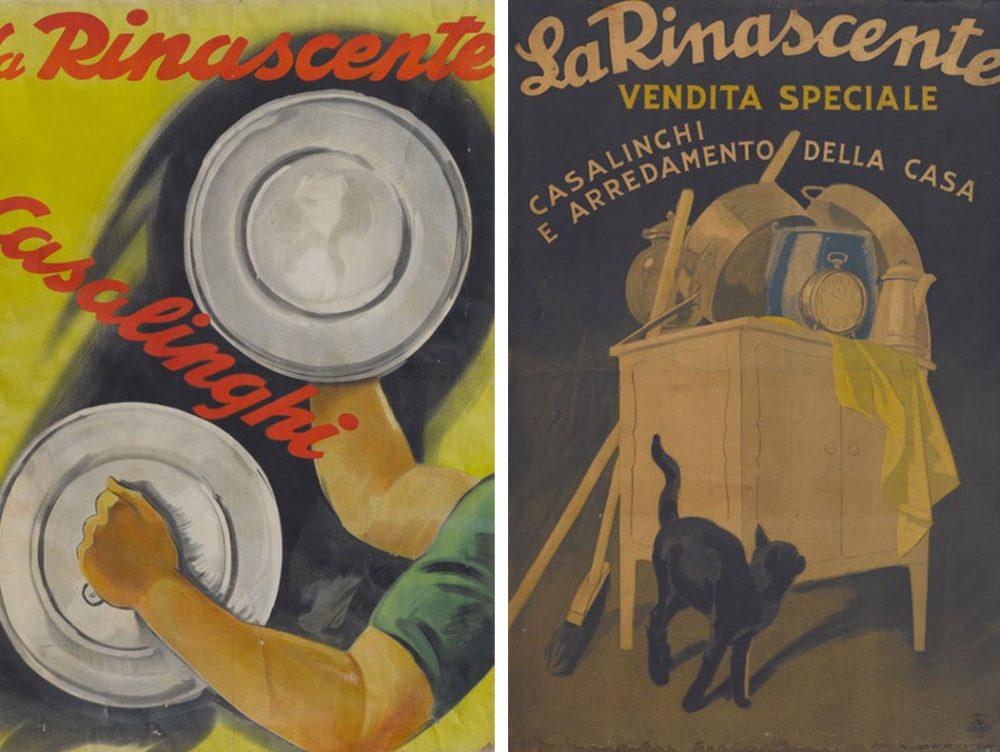 I manifesti storici della Rinascente sono online
