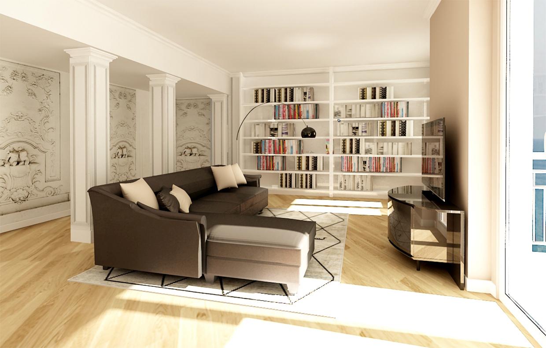 Come dividere casa 100 mq affordable la casa giusta for Grande arredo bari