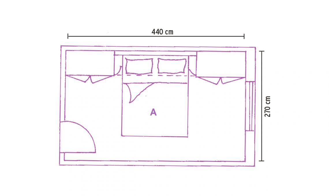 Camera A Ponte Misure.Armadio A Ponte L Ideale Se La Camera E Mini Casafacile