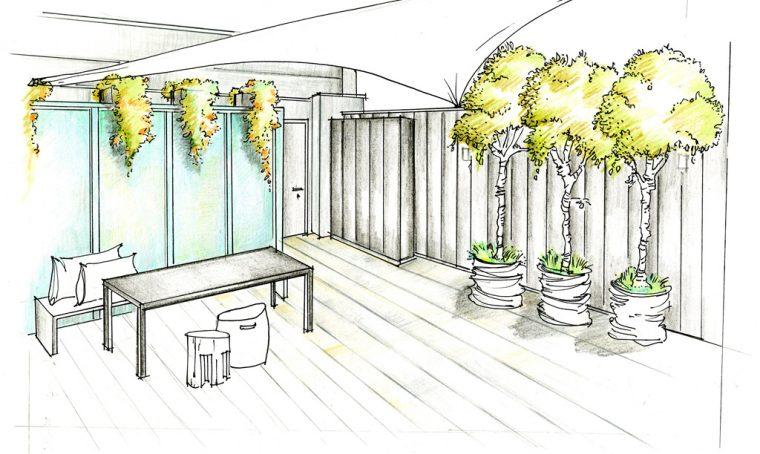 Quali piante mettere su un terrazzo esposto a est