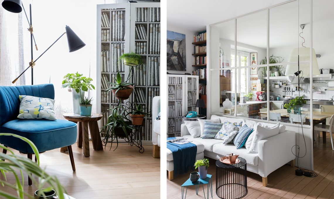 Parete vetrata tra soggiorno e cucina: trasformazione di un open ...