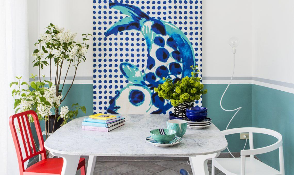 Idee per pitturare casa la finta boiserie casafacile - Idee per pitturare casa ...