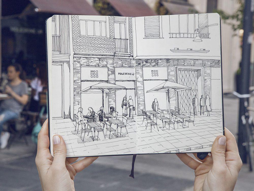 A Milano apre il primo Moleskine Café