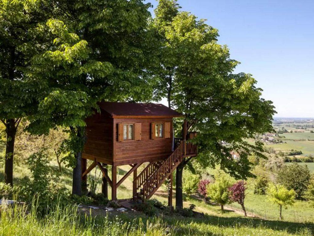 10 case sull'albero in Italia