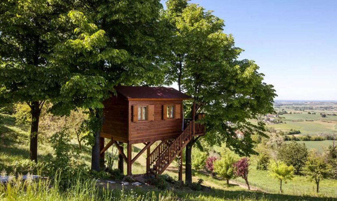 10 case sull albero in italia casafacile - Casa sull albero per bambini fai da te ...