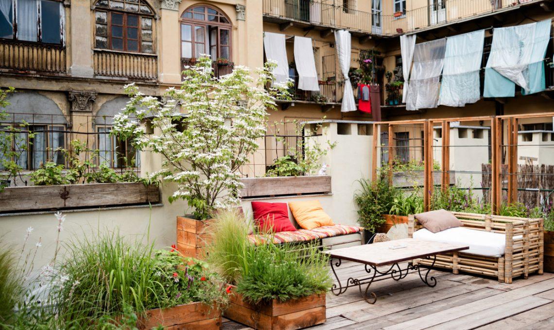 un giardino ecosostenibile sui tetti di torino casafacile