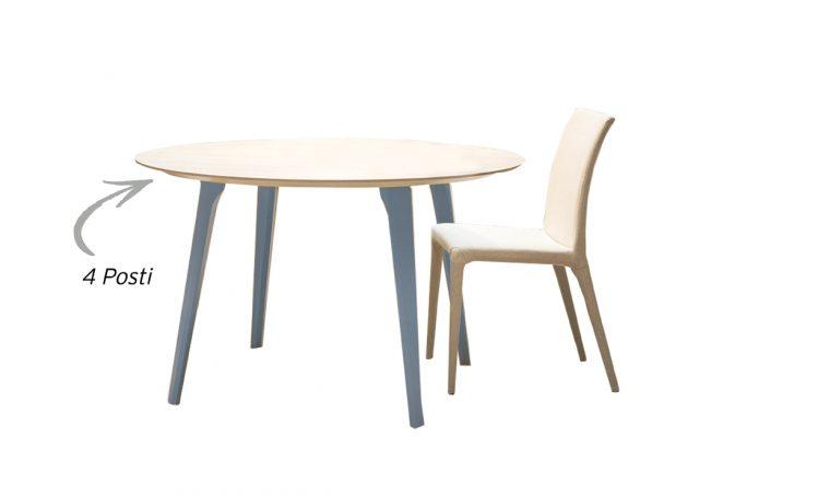 Attorno al tavolo bianco