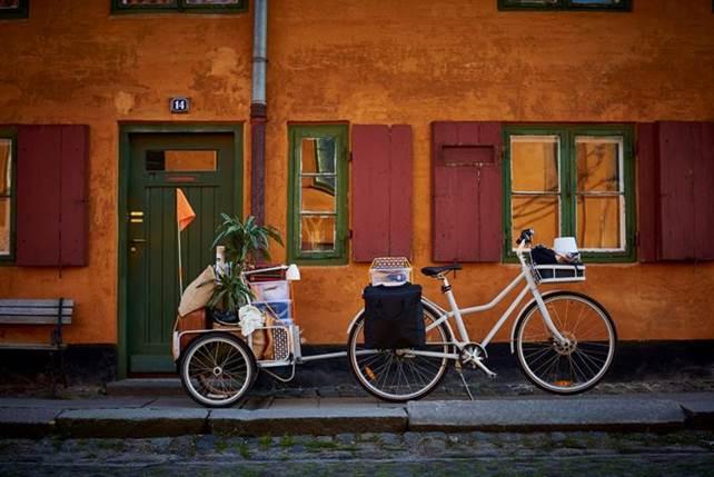 La nuova bicicletta Ikea