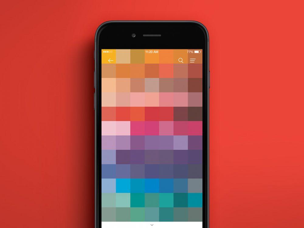 La app di Pantone per giocare con i colori