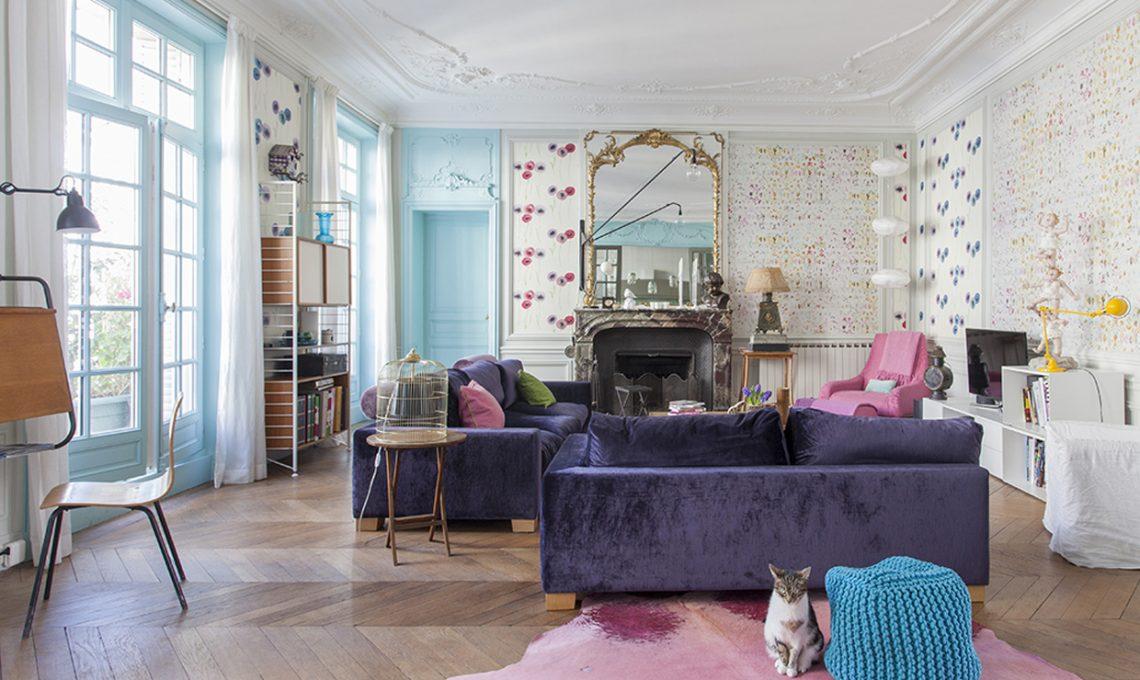 Come illuminare una stanza buia con il colore azzurro - Camera da letto azzurra ...