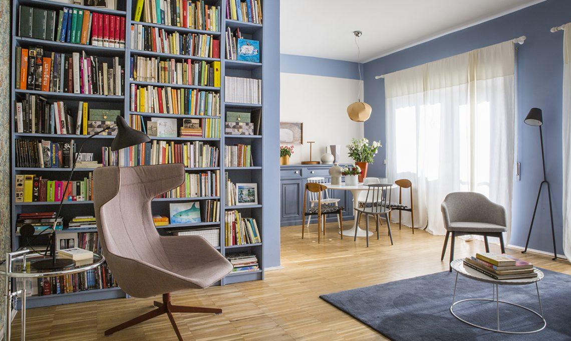 Come illuminare una stanza buia con il colore azzurro casafacile