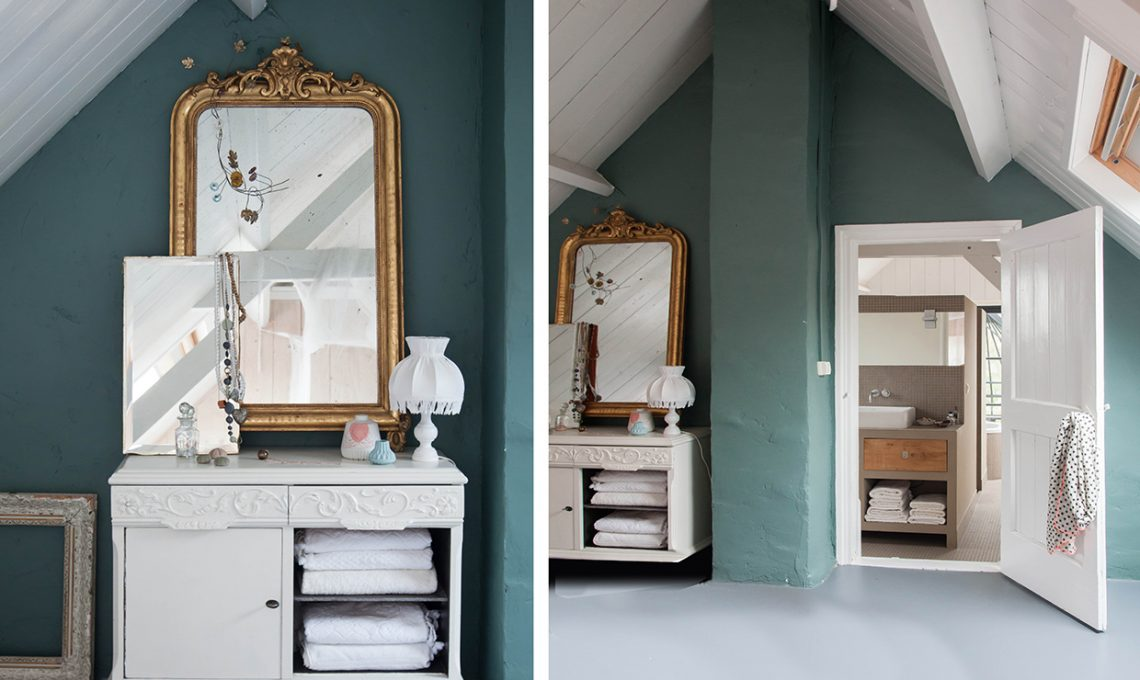 Come illuminare una stanza buia con il colore azzurro casafacile - Camera da letto azzurro polvere ...