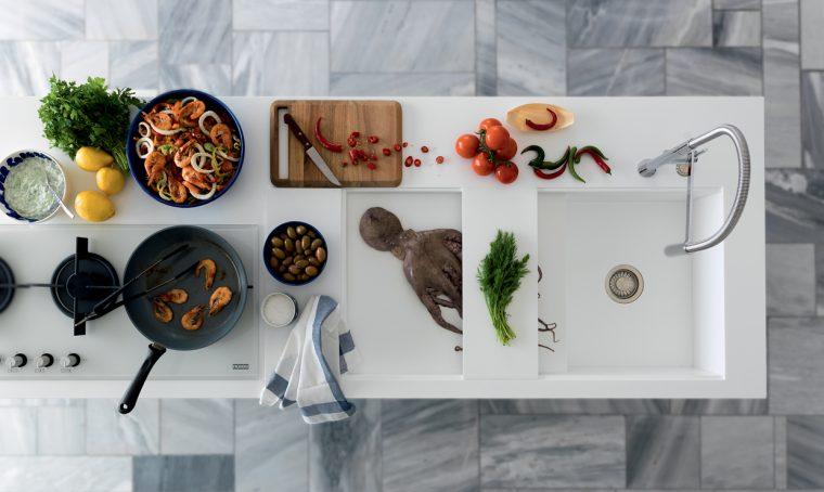 Top e ante in cucina: materiali 'classici' e di ultima generazione
