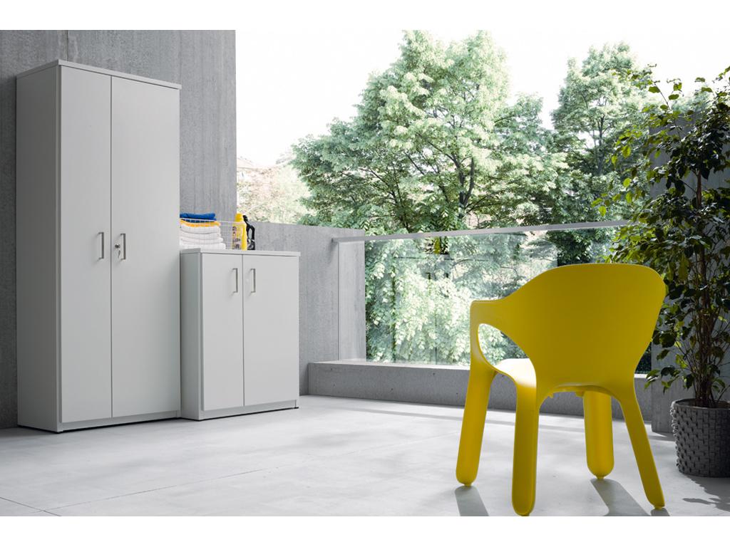 Armadietti In Plastica Ikea.14 Armadi E Contenitori Da Balcone Pratici E Belli Casafacile