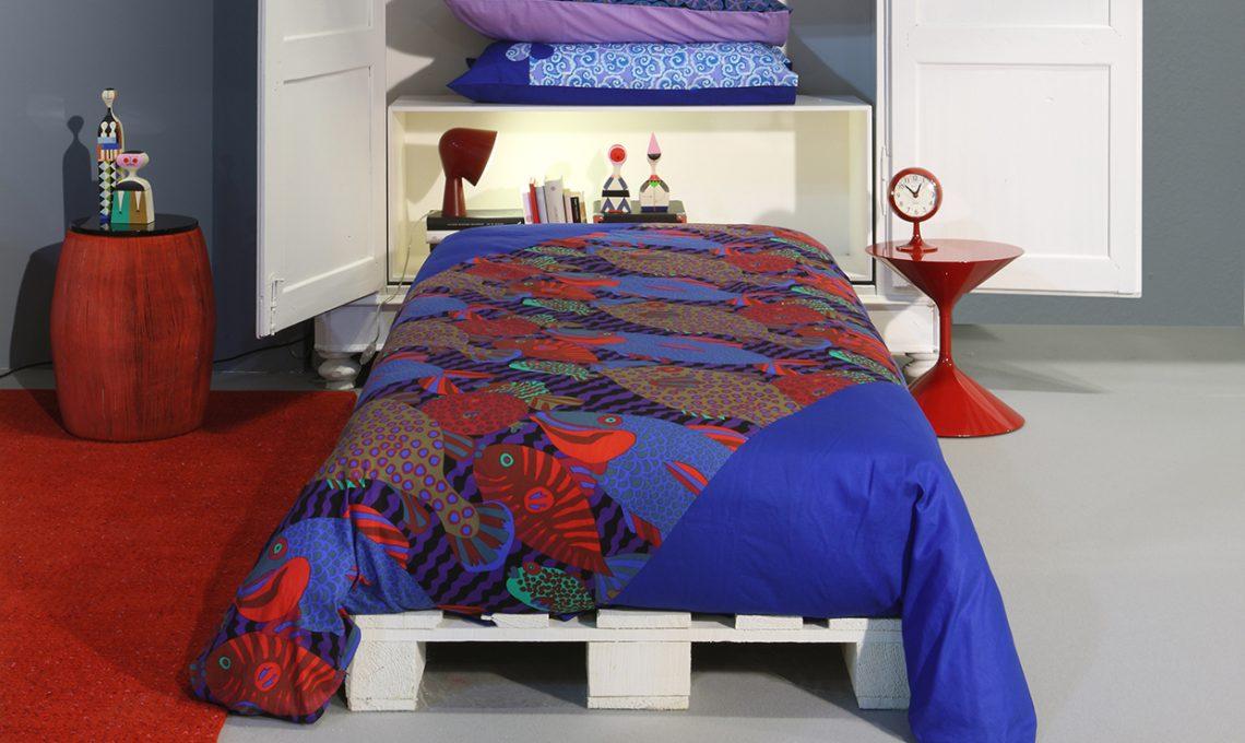 Letto Di Pallets : Come fare un letto con i pallet casafacile