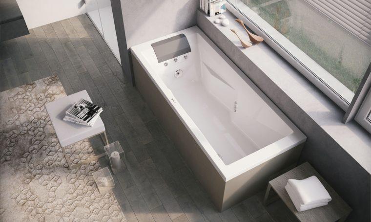 Scegli tra vasca idromassaggio e doccia multifunzione