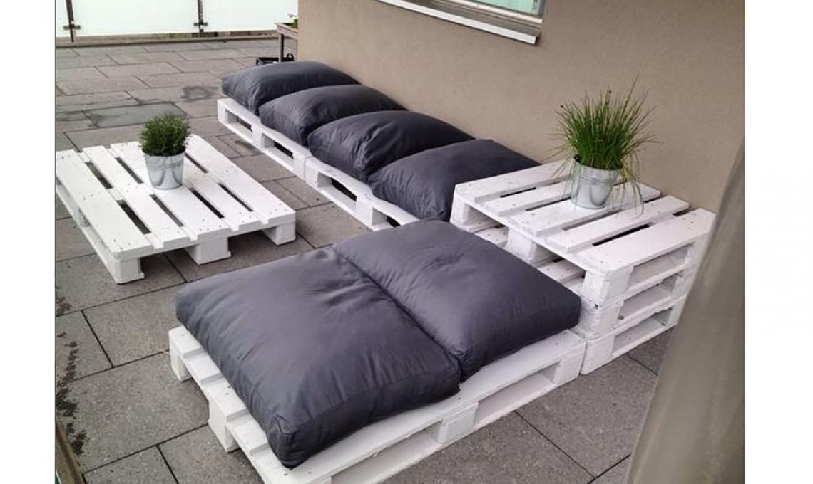 Come scegliere i pallet per costruire mobili fai da te for Pallet arredamento