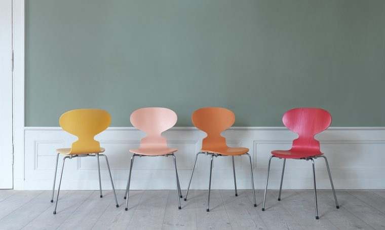 Icone del design: la sedia Ant Chair