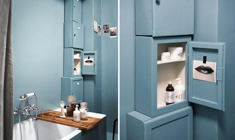 Come ristrutturare il bagno con il colore e idee fai-da-te
