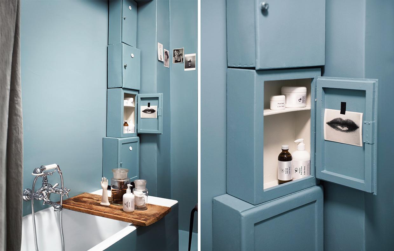 Come ristrutturare il bagno con il colore e idee fai-da-te ...