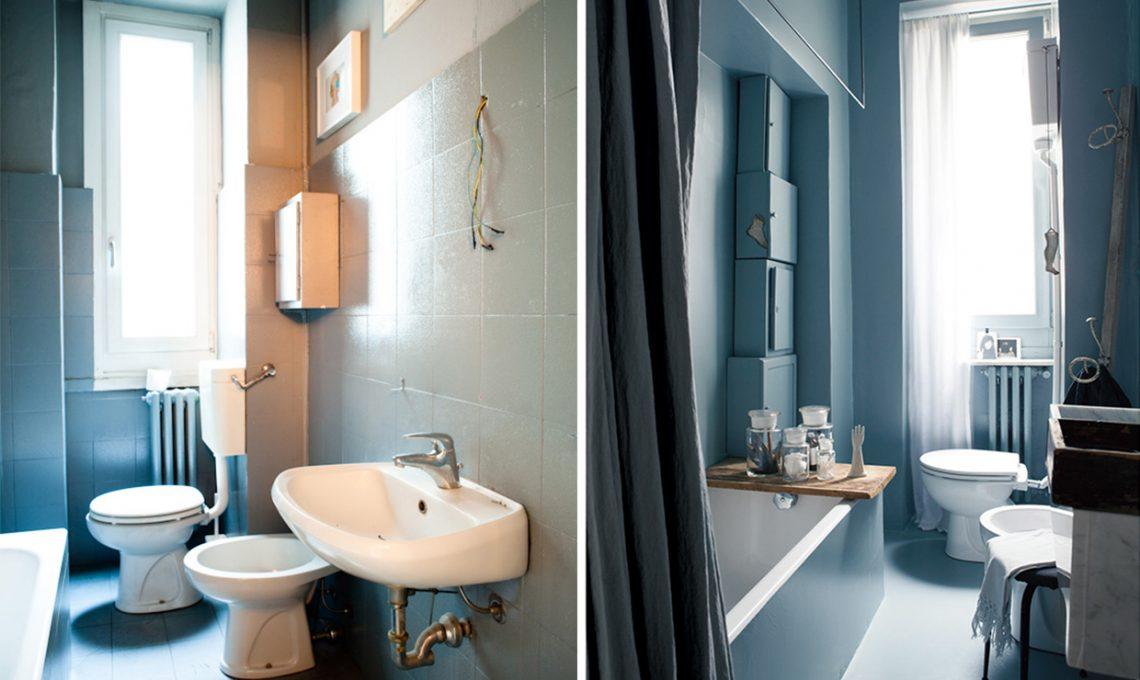 Come ristrutturare il bagno con il colore e idee fai da te for Idee per il bagno