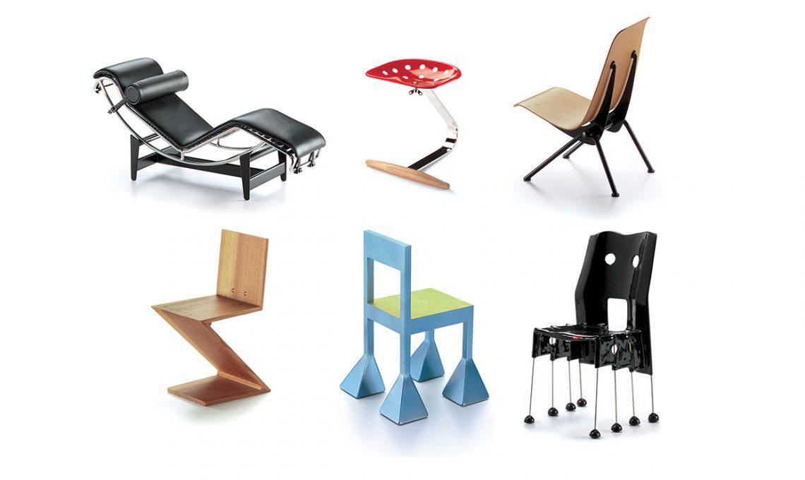 100 sedie icone di design in miniatura casafacile for Sedie di design 2017