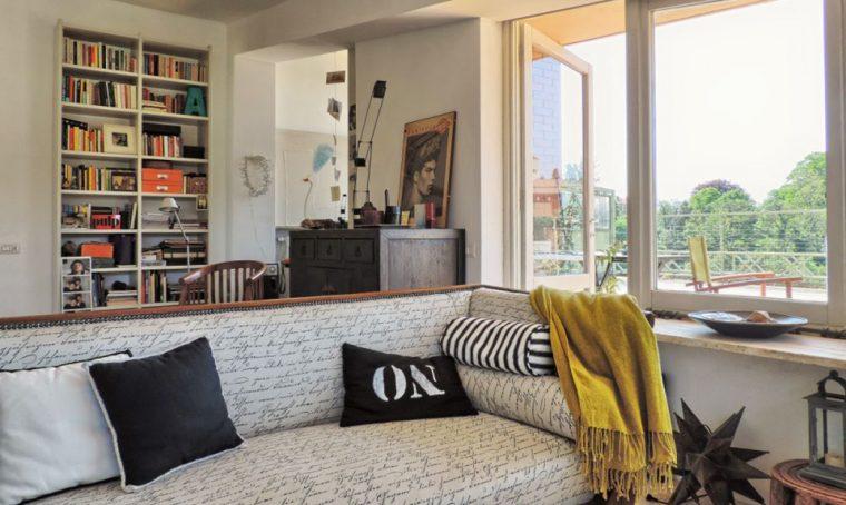 Una casa in stile eclettico
