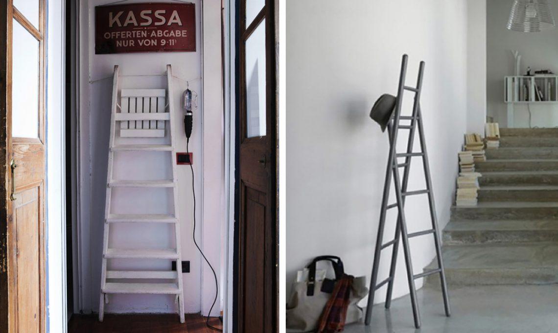 15 idee per arredare con una scala a pioli CasaFacile