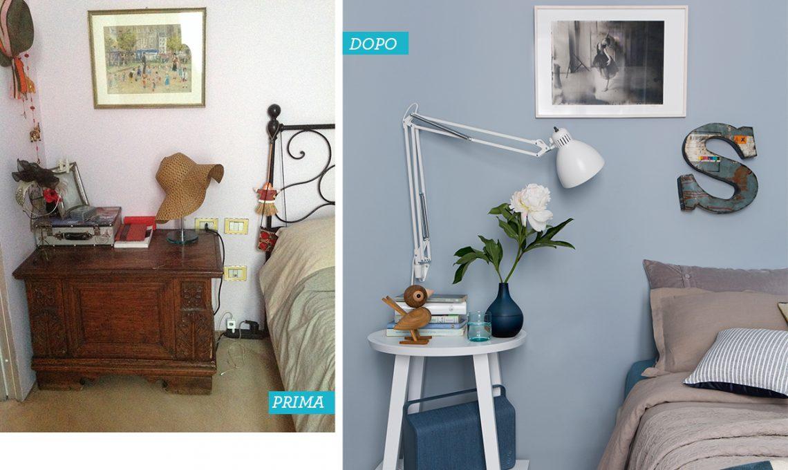 Prima & dopo: una casa buia sillumina con il colore casafacile