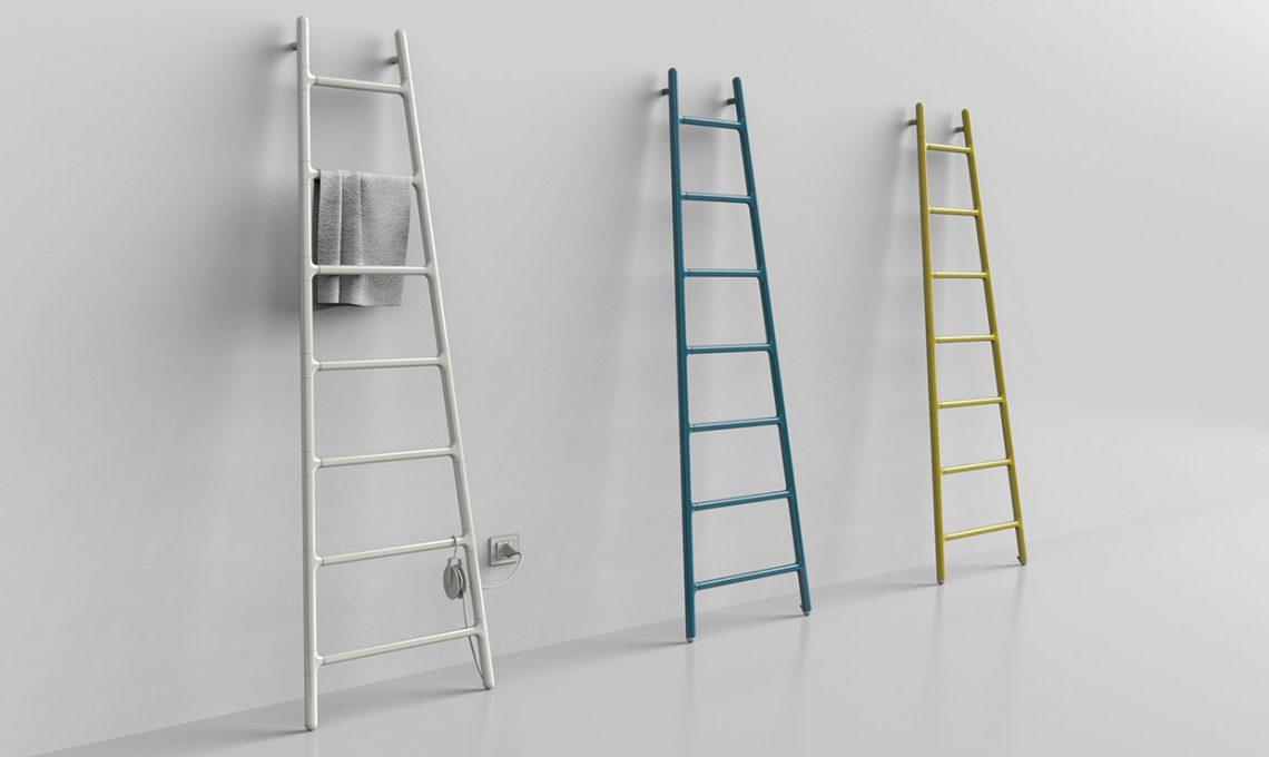Portavasi A Scaletta In Legno : Riciclo di una vecchia scala in legno e dei portavasiu i love