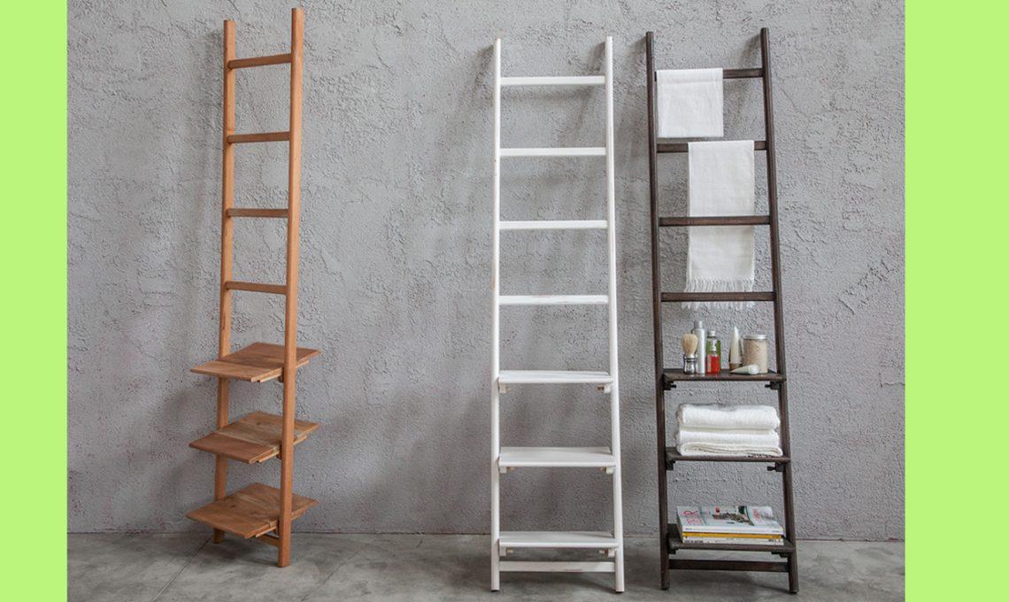Scaletta In Legno Per Bagno : Quali scale a pioli comprare per arredare la tua casa casafacile