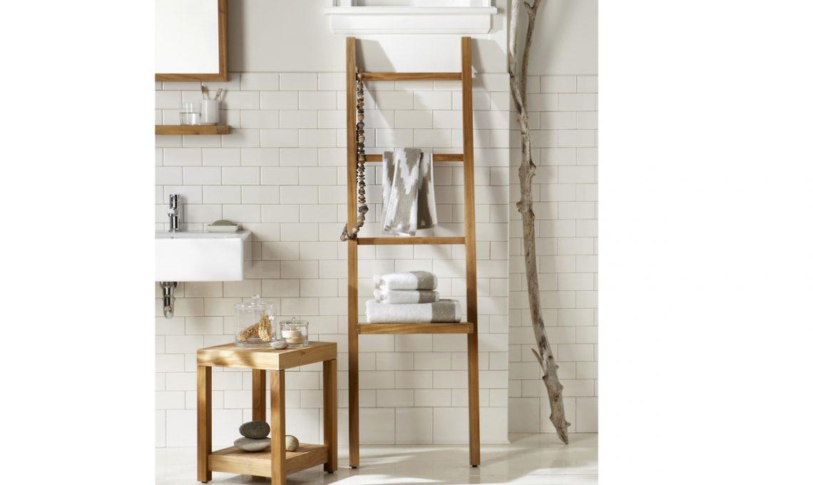 Quali scale a pioli comprare per arredare la tua casa - Scaletta porta asciugamani bagno ...