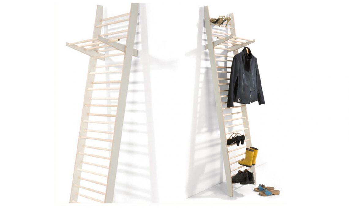 Scala arredo bagno: 15 idee per arredare con una scala a pioli