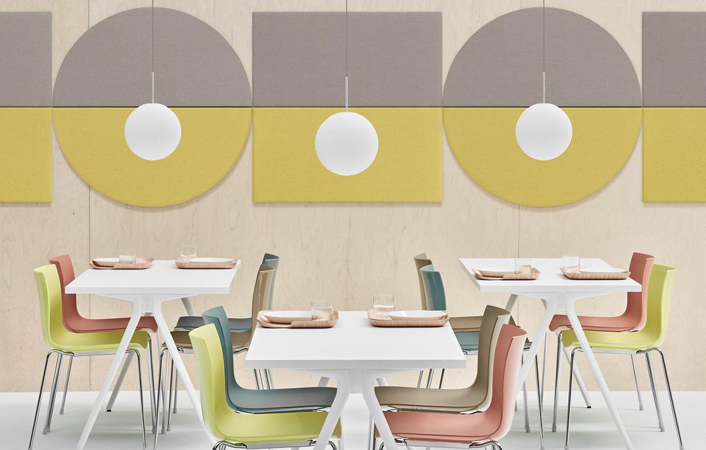 10 pannelli fonoassorbenti di design per la casa e l for Design per l ufficio