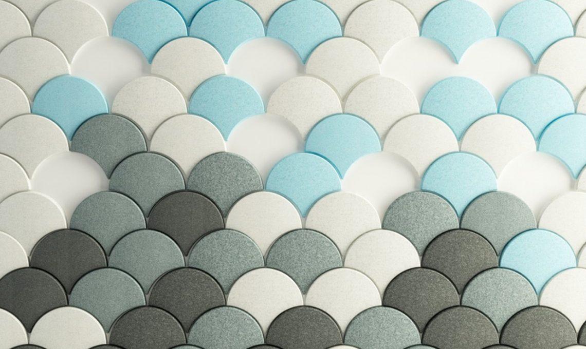 10 pannelli fonoassorbenti di design per la casa e l - Pannelli decorativi fonoassorbenti ...