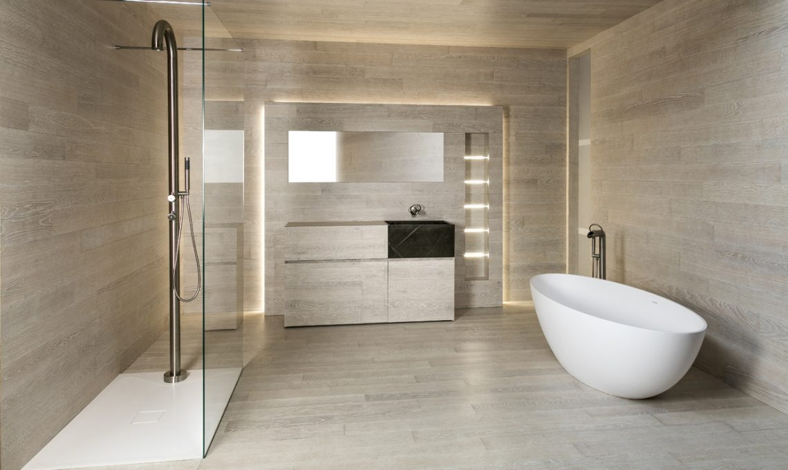 8 tecno rivestimenti per il bagno: belli e funzionali casafacile