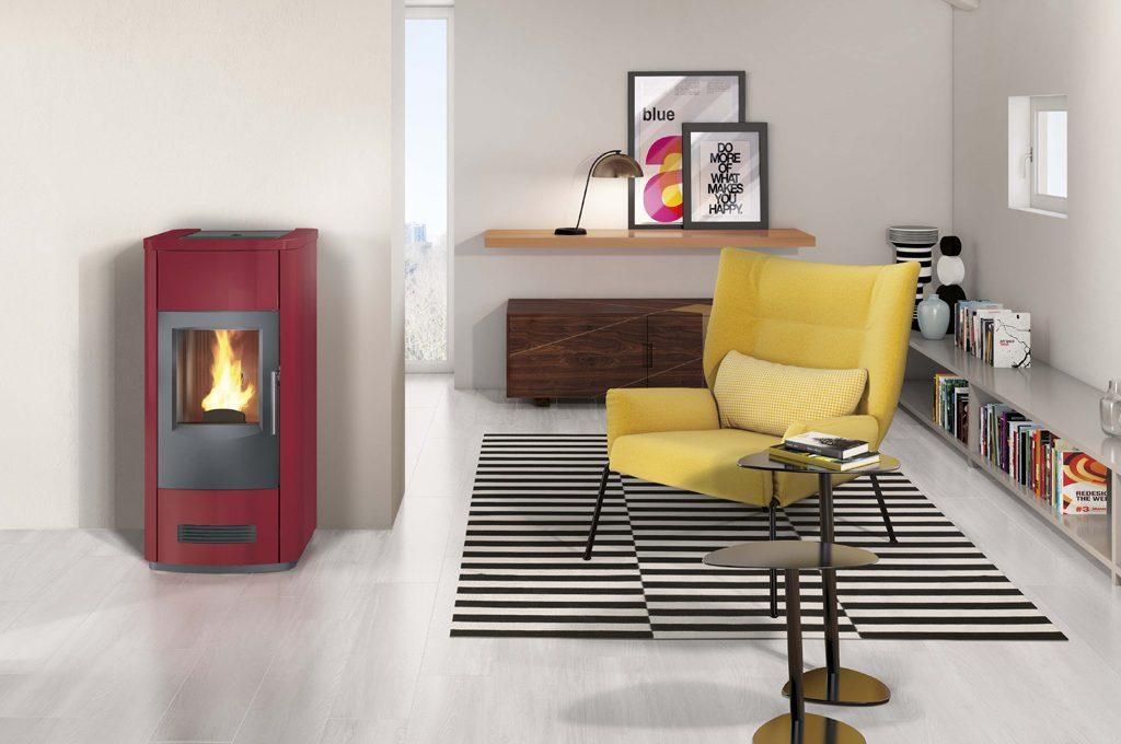 Con le nuove stufe a pellet di Piazzetta riscaldi tutta la casa in modo ecologico, risparmiando ...