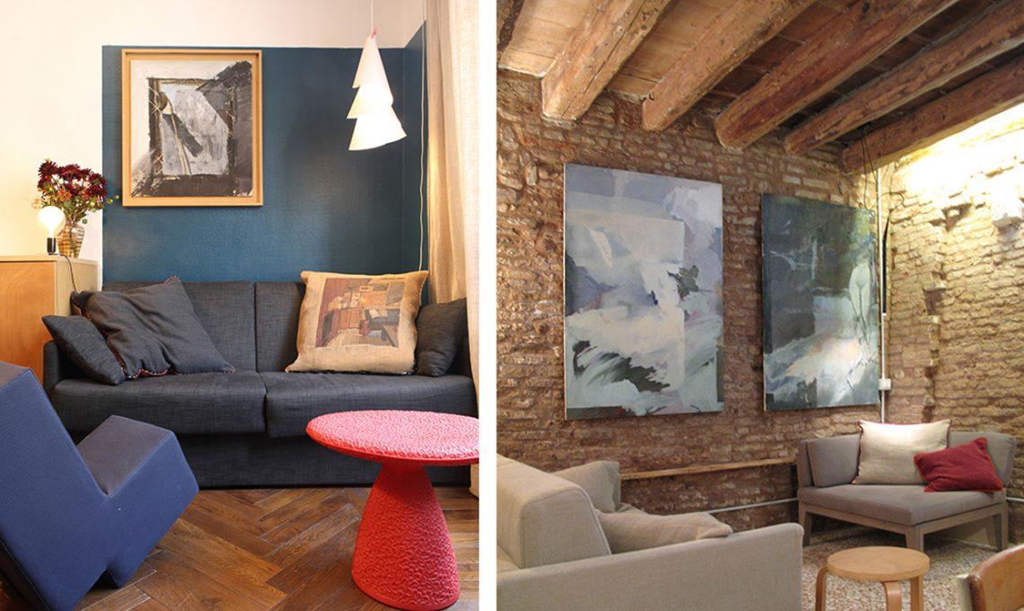 Ispirazioni e istruzioni per appendere i quadri alle for Quadri a parete