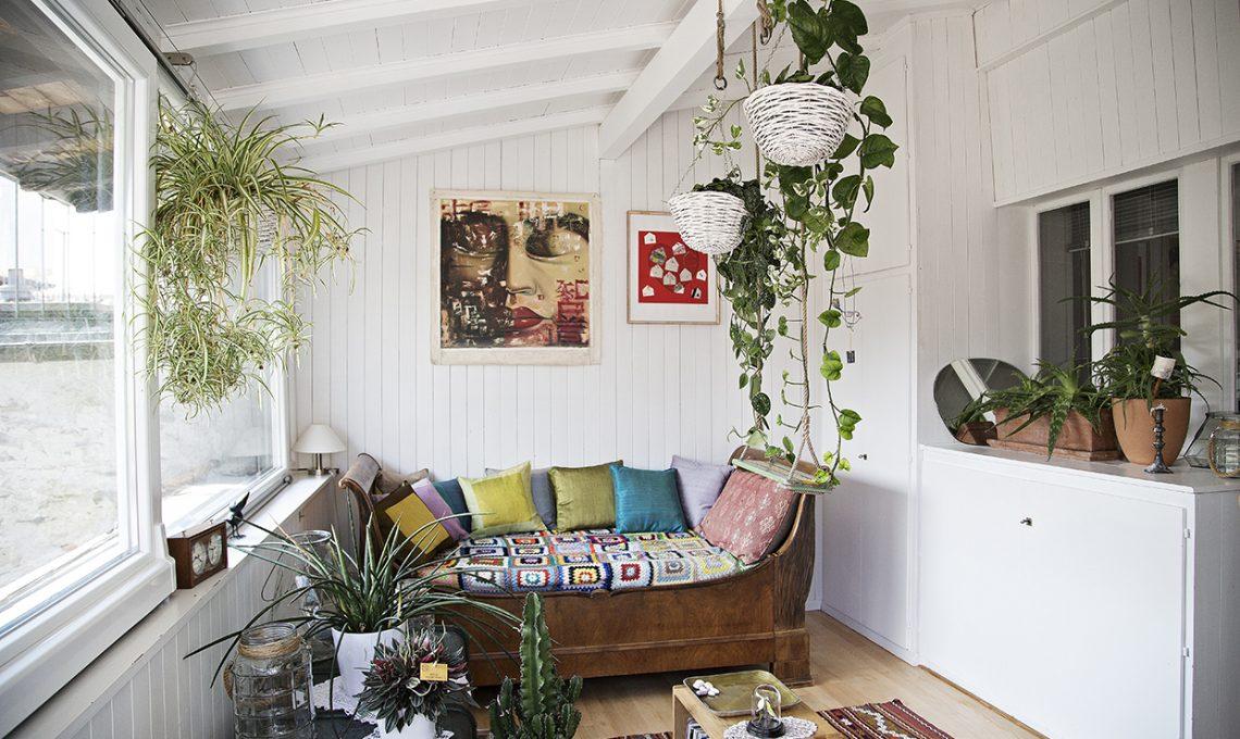 Un mix di stili nordico e mediterraneo vintage e moderno for Arredamento nordico moderno