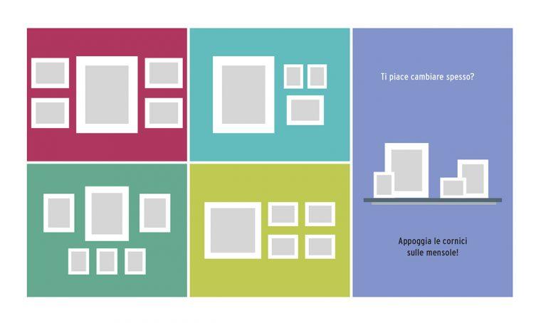 Come appendere i quadri: 10 idee da copiare