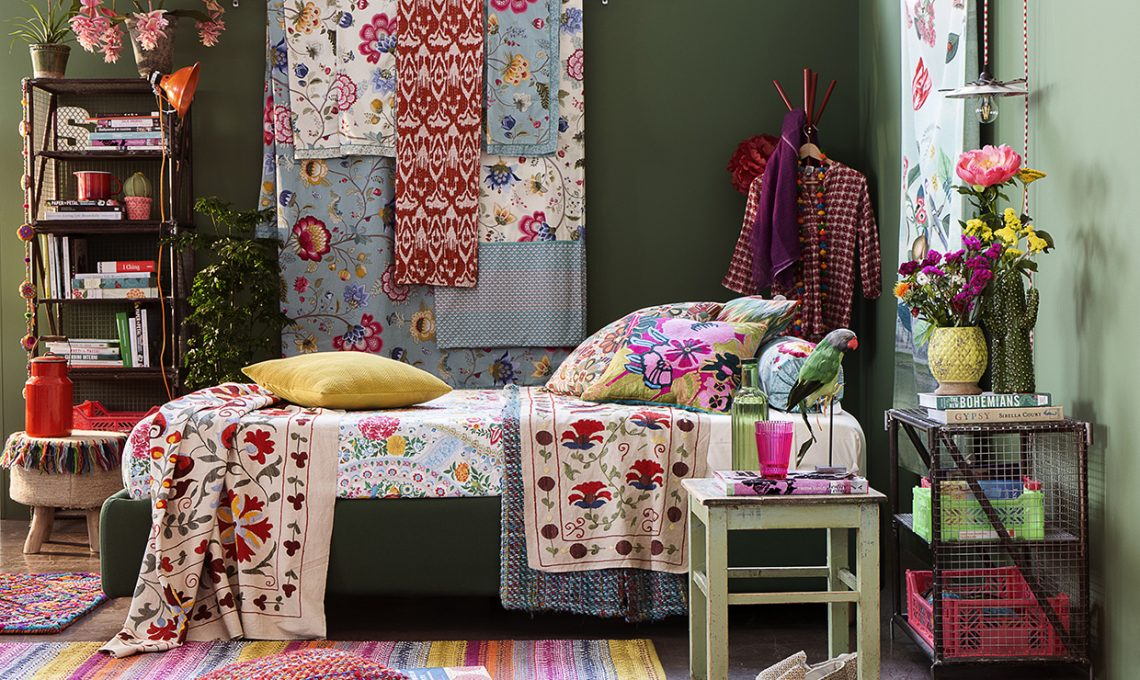 Arredare con il colore torna lo stile gipsy casafacile for Arredare con il colore