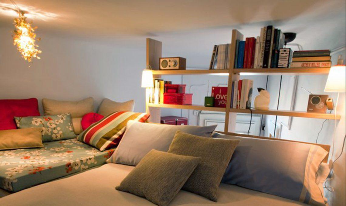 Il cubo soppalco sopra letto sotto cabina armadio casafacile - Letto cubo ikea ...