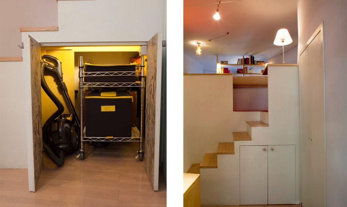Il cubo-soppalco: sopra letto, sotto cabina armadio - CASAfacile