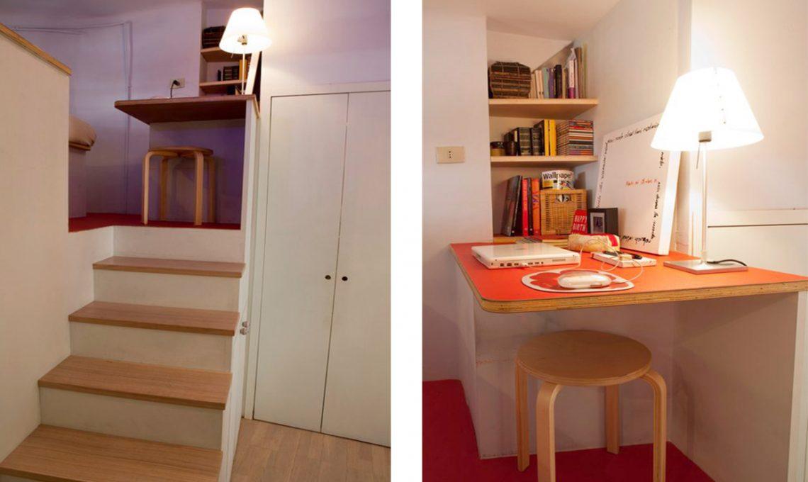 Il cubo soppalco sopra letto sotto cabina armadio casafacile - Armadio a letto ...