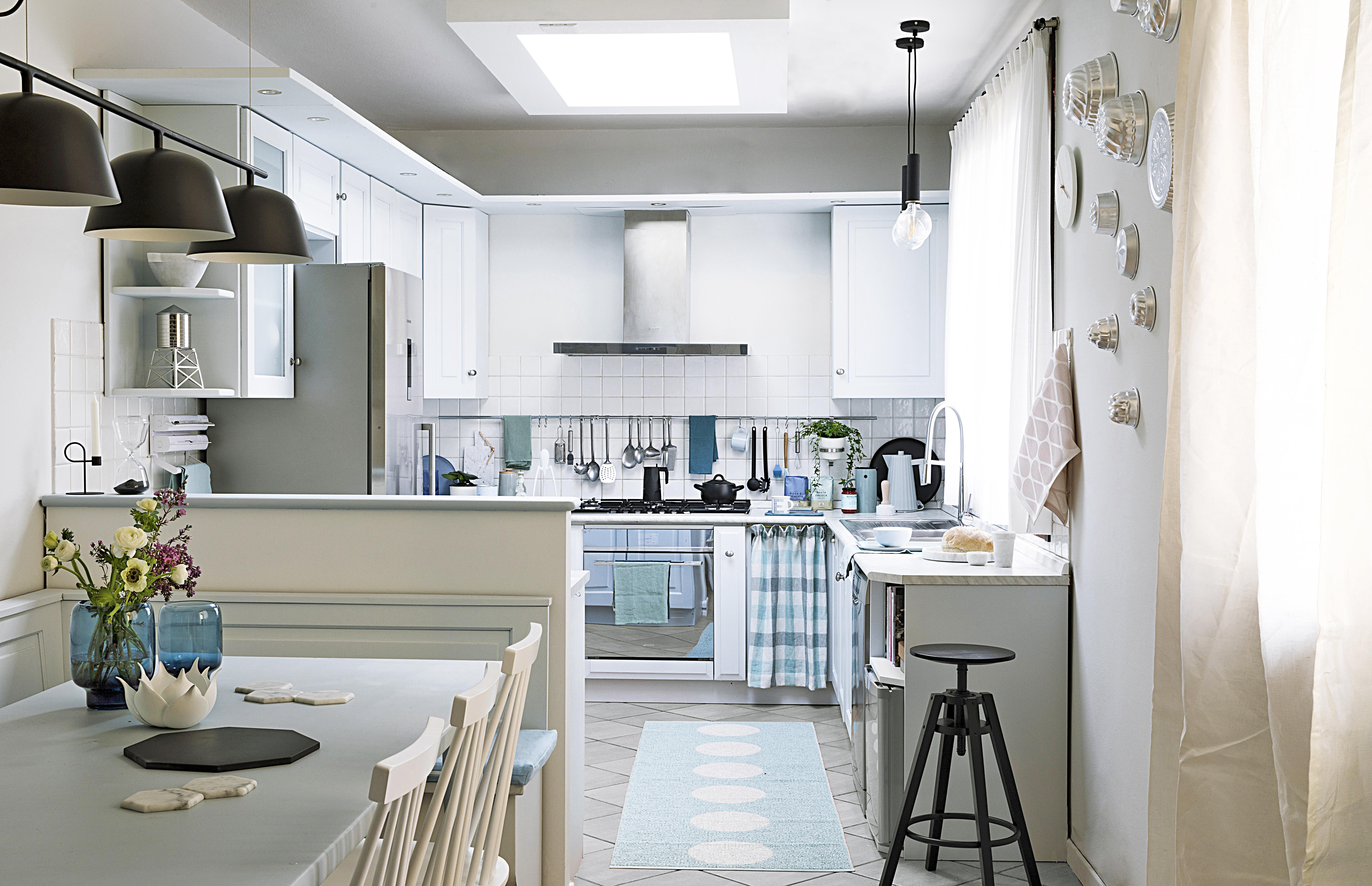 Mobili Per Cucina Piccola 100 trucchi per organizzare la cucina - casafacile