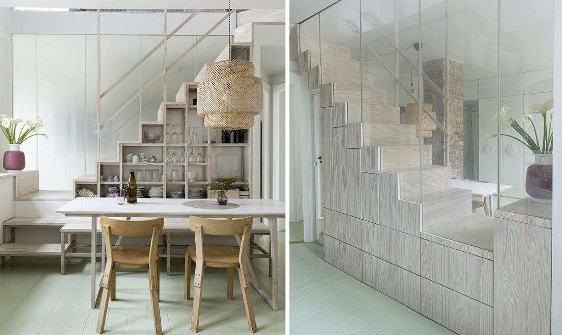 Idee salvaspazio per la casa casafacile - Panca sotto finestra ...