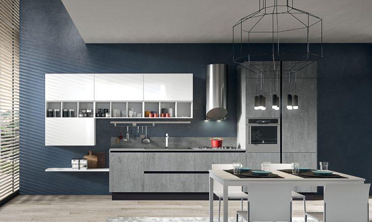 Piano di lavoro in cucina: il grès