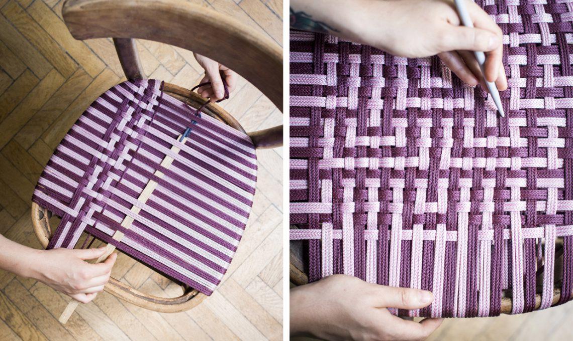 Filo Plastica Per Sedie.Tessitura Fai Da Te Crea L Intreccio Per La Sedia Casafacile